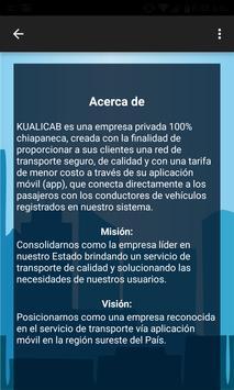 Kualicab screenshot 4
