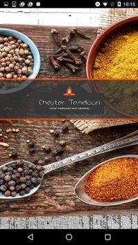 Chester Tandoori Indian poster