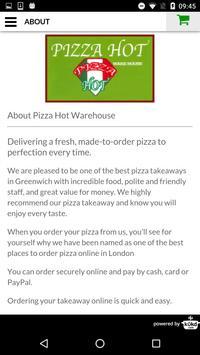Pizza Hot Warehouse Takeaway screenshot 3