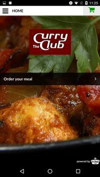 The Curry Club Indian Takeaway screenshot 1