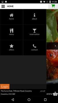 The Curry Club Indian Takeaway screenshot 2