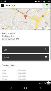 The Curry Club Indian Takeaway screenshot 4