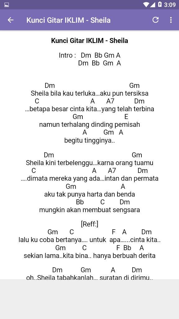 Chord Gitar Lagu Malaysia For Android Apk Download