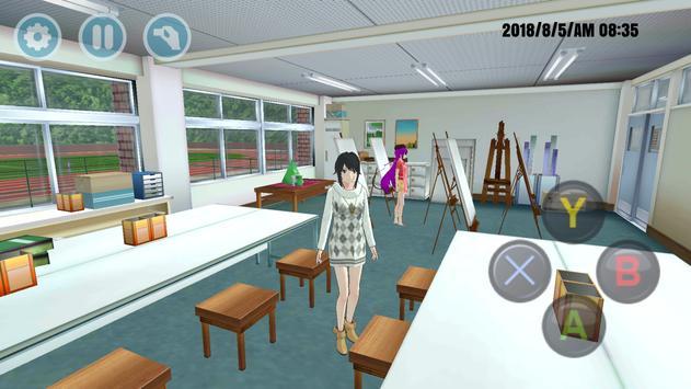 High School Simulator 2019 Preview स्क्रीनशॉट 1