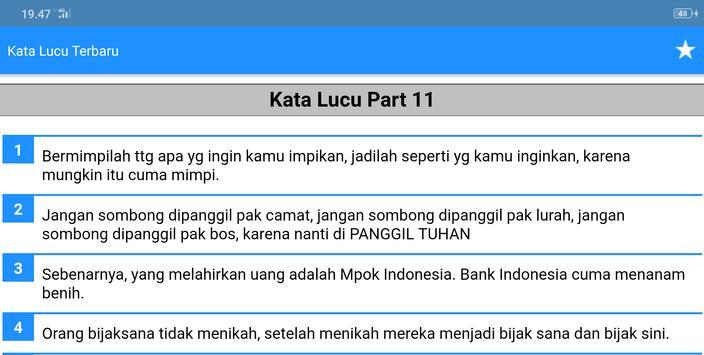 Kata Kata Lucu Bikin Sakit Perut Terbaru for Android APK Download