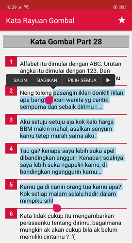 Kata Rayuan Gombal Bikin Baper Apk 1217 Download For