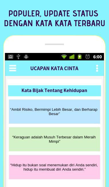 Kumpulan Kata Bijak Tentang Kehidupan Für Android Apk