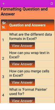 For Excel Course ảnh chụp màn hình 2