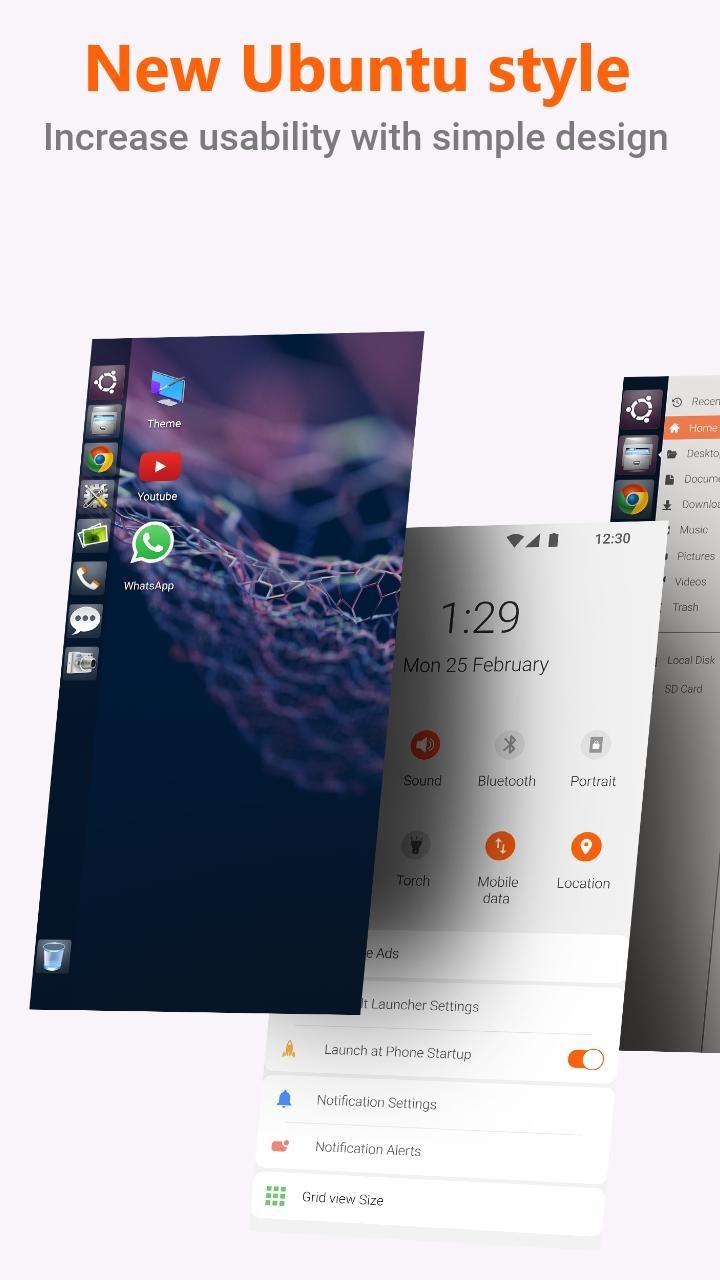 Ubuntu Style Launcher v2.6 [Unlocked] Apk [Latest] 1