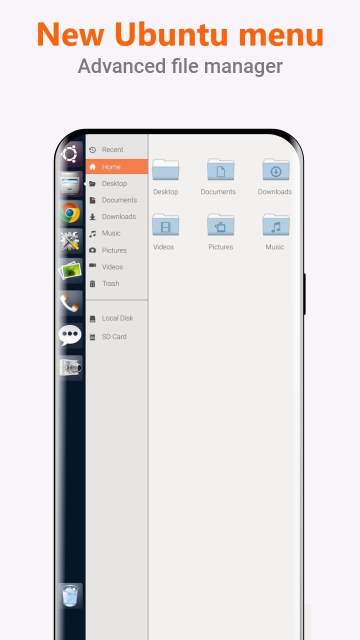 Ubuntu Style Launcher v2.6 [Unlocked] Apk [Latest] 4