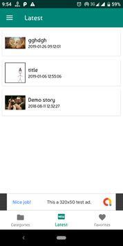 Golpo - A story reading platform screenshot 2