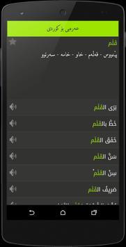 Arabic<>Kurdish (Qallam Dict) screenshot 4