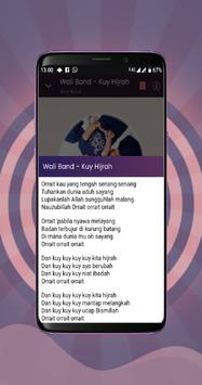 🎵 Kuy Hijrah - Wali Band screenshot 4