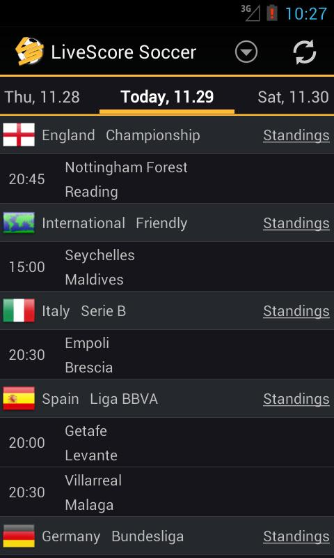 Livescore Soccer For Android Apk Download
