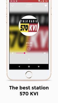 570 KVI Seattle Radio Station screenshot 2