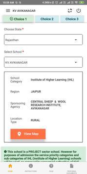 Kendriya Vidyalaya Sangathan Admissions 2019-20 screenshot 6