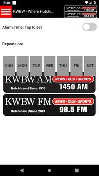 KWBW Radio, Hutchinson, KS screenshot 2