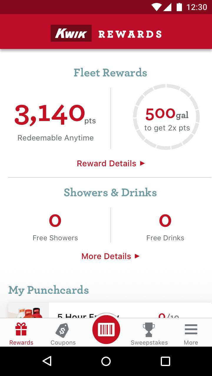 Kwik Rewards Fleet for Android - APK Download