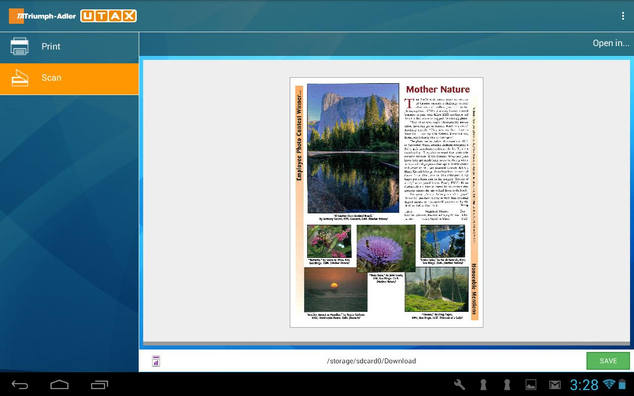 TA/UTAX Mobile Print for Android - APK Download