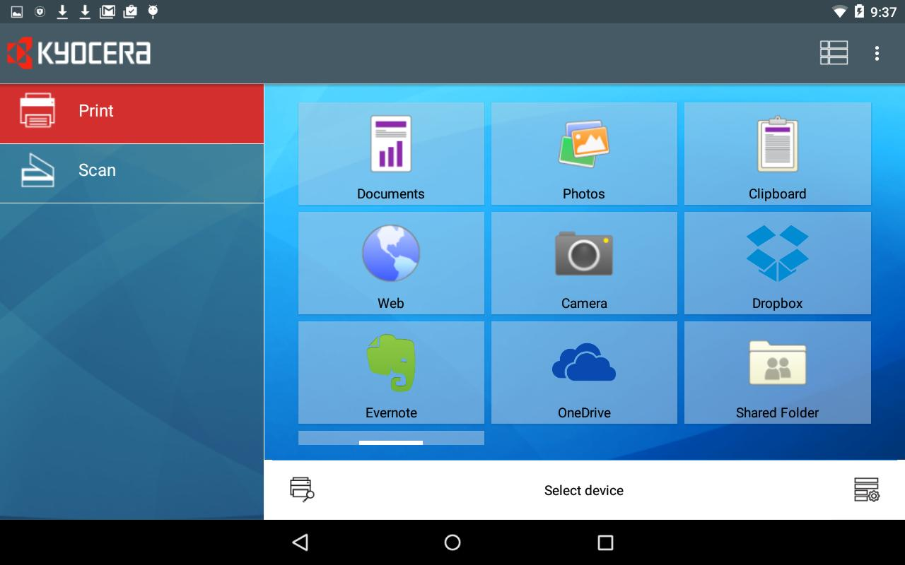KYOCERA Mobile Print for Android - APK Download
