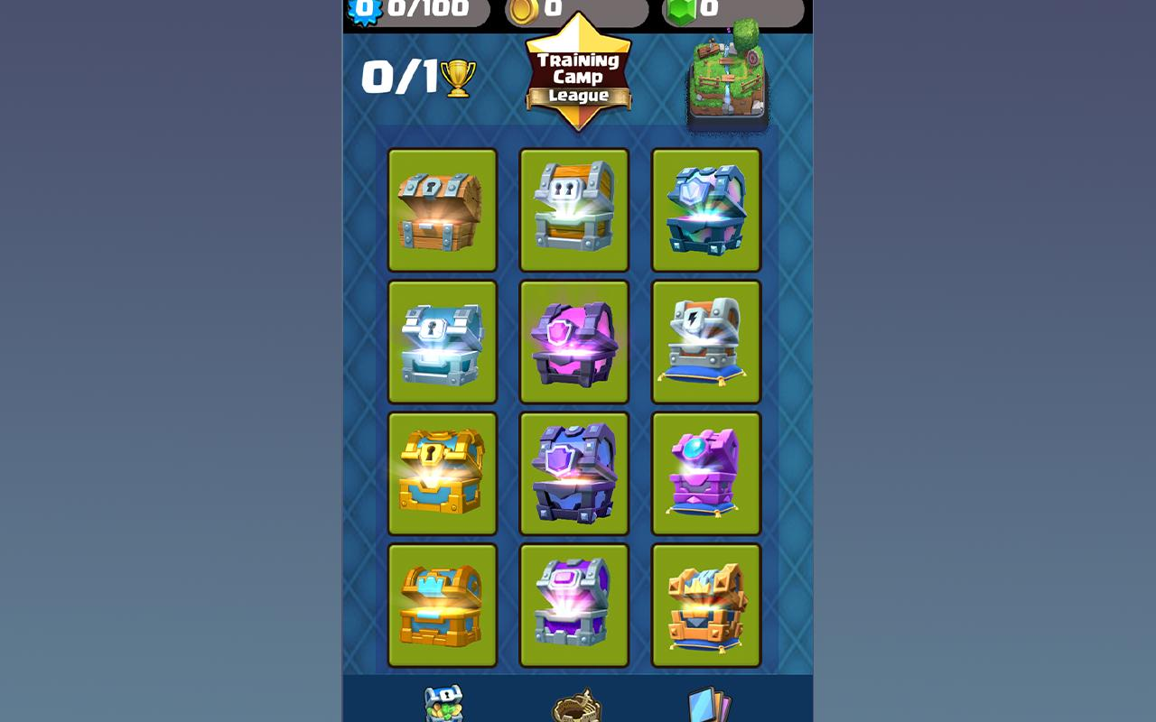 chest simulator for clash royale free
