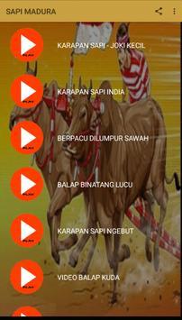 Video Karapan Sapi Madura screenshot 2