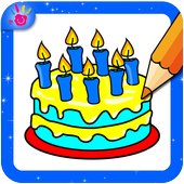 Cake Coloring Pages icon