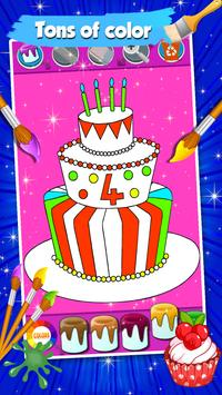 Cake Coloring Pages screenshot 3