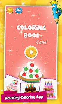 Cake Coloring Pages poster