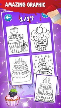 Cake Coloring Pages screenshot 1