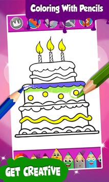 Cake Coloring Pages screenshot 2