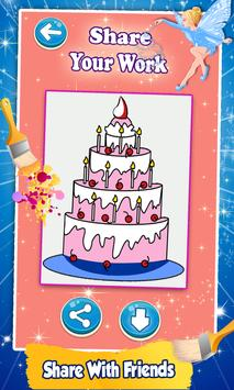 Cake Coloring Pages screenshot 7
