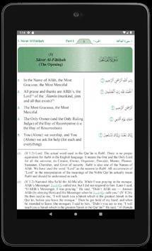 Qur'an translation screenshot 15