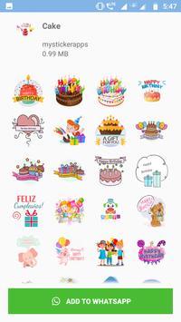 WAStickers - Birthday Stickers screenshot 1