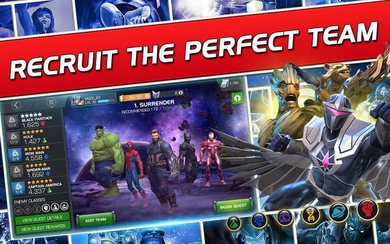 MARVEL Batalla de Superhéroes Poster