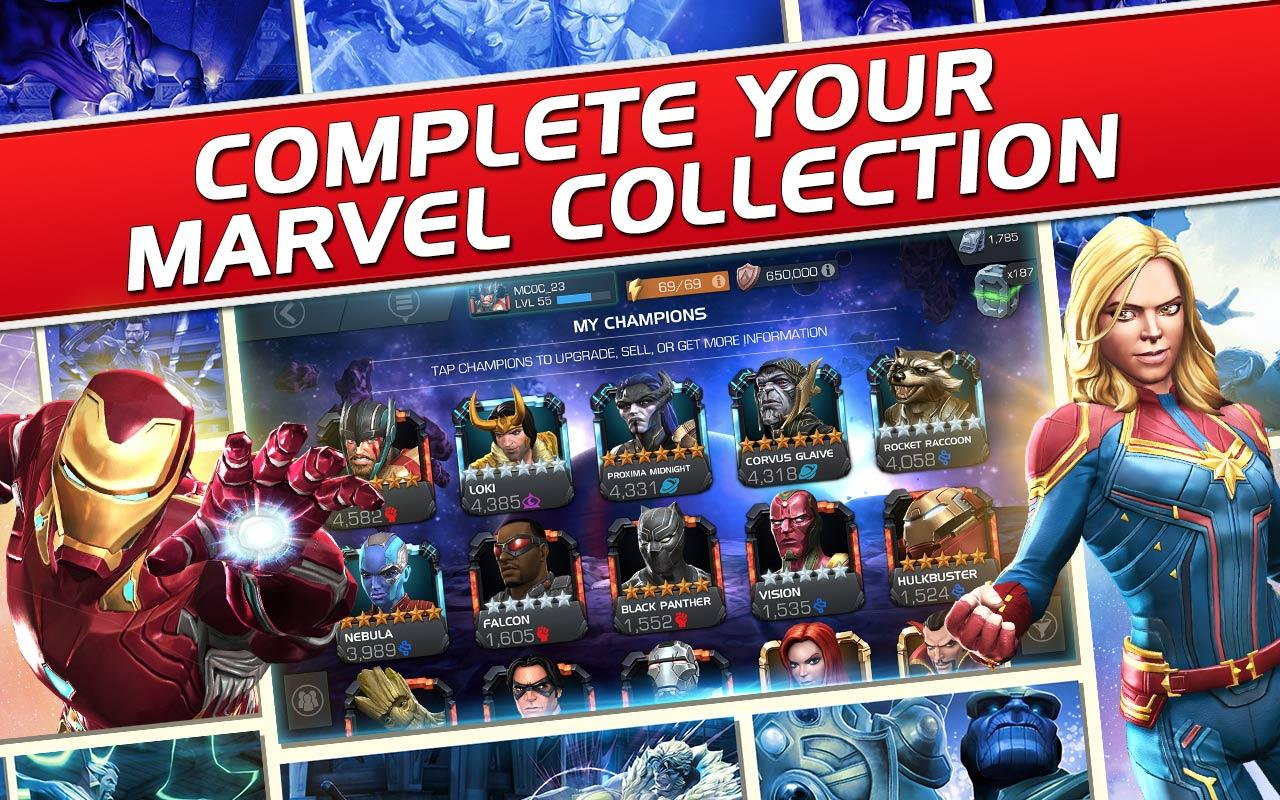 Marvel Contest Of Champions For Android Apk Download