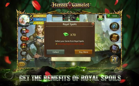 Heroes of Camelot ảnh chụp màn hình 7