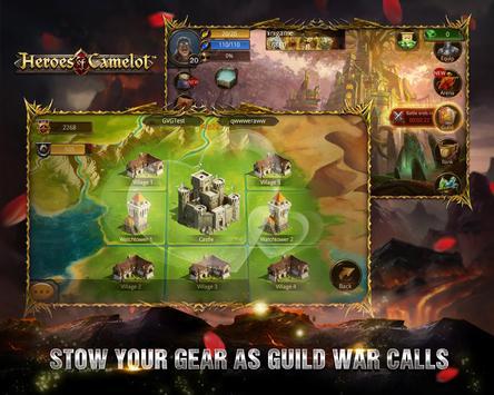 Heroes of Camelot syot layar 20