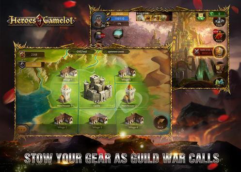 Heroes of Camelot syot layar 12