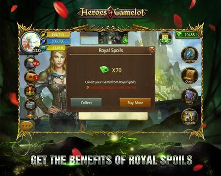 Heroes of Camelot ảnh chụp màn hình 15