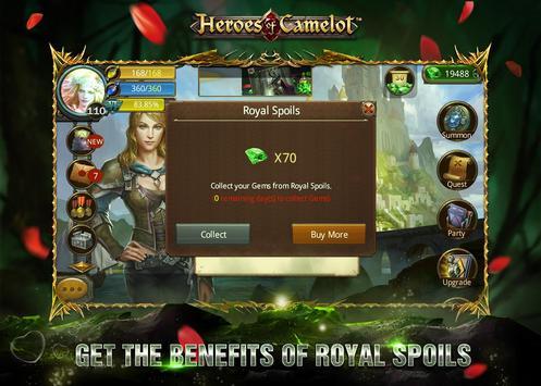 Heroes of Camelot syot layar 15