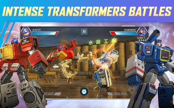 TRANSFORMERS: Forged to Fight poster