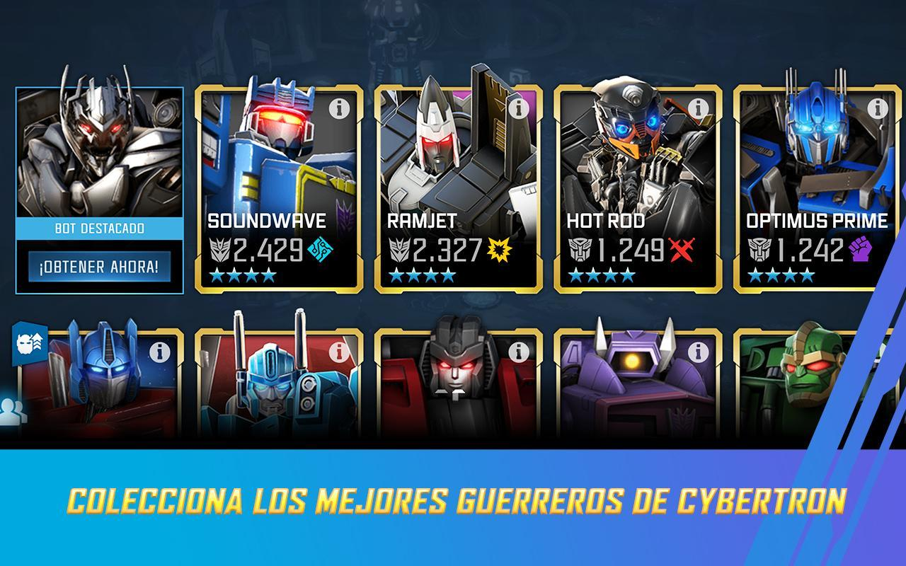 Transformers Combatientes For Android Apk Download