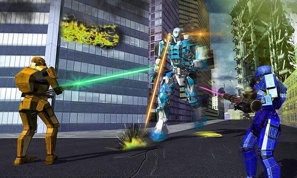 US Police Grand Robot Car Transformation Games screenshot 8