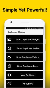 Duplicates Cleaner poster