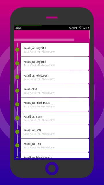 Ribuan Status Wa Ig Fb Motivasi 2019 For Android Apk
