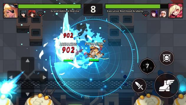 Guardianes Tales captura de pantalla 15