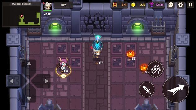 Guardianes Tales captura de pantalla 1