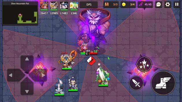 Guardianes Tales captura de pantalla 2