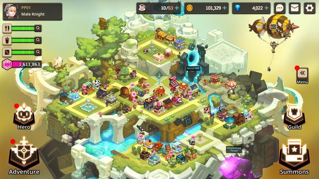 Guardianes Tales captura de pantalla 4